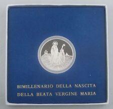 Vatikan / Vatican State 500 Lire 1984 Ag / Silber p184 st / bu in Schatulle
