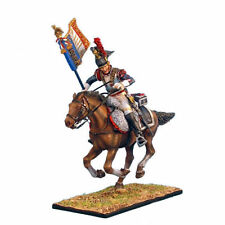 FIRST LEGION NAP0243 French 5th Cuirassiers Standard Bearer Charging NAP243
