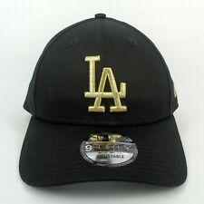 New Era Cap Men's MLB LA Dodgers Team Basic Black & Gold 940 Snapback Hat