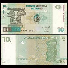 Congo 10 Francs, 1997, P-87B, banknote, UNC
