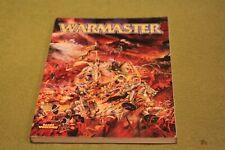 WARHAMMER FANTASY BATTLES - WARMASTER CORE RULES - 10mm Rules - Vintage 2000
