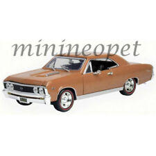 MOTORMAX 73104 1967 67 CHEVY CHEVELLE SS 396 1/18 DIECAST GOLD BROWN