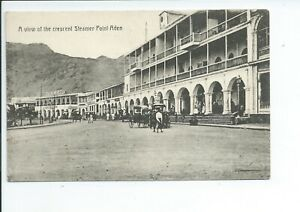 Printed postcard of the Crescent steamer point Aden Middle East good condition