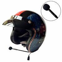 DOT Bluetooth Headset Motorcycle Open Half Face Helmet 3/4 Vintage Helmets