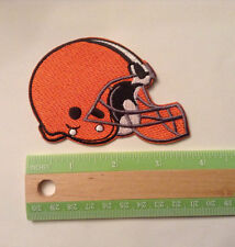 """Cleveland Browns embroidered, 3.75"""" by 2.25""""  iron on patch, NFL, football"""