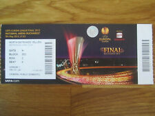 Ticket Finale Europa League 2012 Atl Madrid-Athl Bilbao