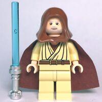 "New Star Wars LEGO® Obi-wan ""Ben"" Kenobi Jedi Master Minifigure 7965 10188"