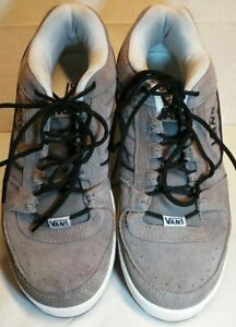 Men's Vans Size 10, Grey Suede Leather (Malone)