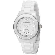 orologio Emporio Armani, bianco, in ceramica, originale, articolo AR1425