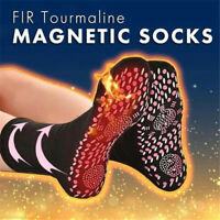 FIR Tourmaline Magnetic Socks - Self Heating Therapy Magnetic Socks Adult Unisex