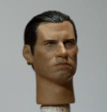 """1/6 headplay pulp fiction Vincent Vega John Travolta 12"""" head"""