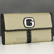 Brand New Rare Collections GuEsS SLG Wallet Ladies ATOMIC BEACH Black Women