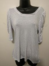 "Brand new ""Target - limited editions"" polka dot top blouse SIZE12"