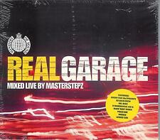REAL GARAGE - Mixed live by Mastersteps /  NEU, new still sealed 2001er DoCD ! !