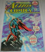 ACTION COMICS #440 (DC Comics 1974) 1st Mike Grell art on GREEN ARROW (VF-)