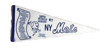 Vintage 1973 New York Mets World Series MLB Baseball Scroll Pennant MGR Berra