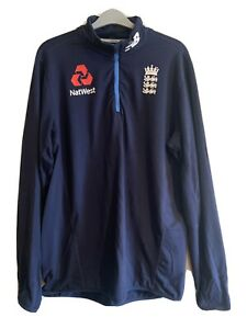 ECB England cricket New Balance 1/4 Training Top