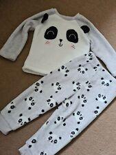 Baby Girls Fluffy Panda Pyjamas 12-18 Months Primark