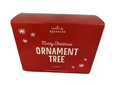 2013 Hallmark Keepsake 12 Days of Christmas Tree Ornament Display