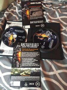 Battlefield 3: LIMITED EDITION (PC, 2011, key, 2 discs, manual on disc)