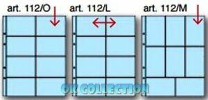 10 Fogli Masterphil K211 a 8 tasche x Schede Telefoniche (entra e scegli misura)
