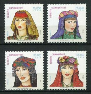 31167) Turkey 1998 MNH Traditional Head Covers 2
