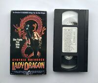 Imperial VHS Lady Dragon Rare 1992 OOP Action Martial Arts Cynthia Rothrock HTF