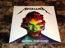 Metallica Rare Green Colored Record Web Exclusive Hardwired To Self Destruct NEW