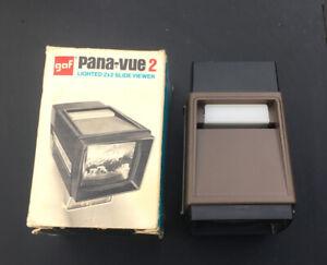 Pana-vue 36 Slide Automatic 2x2  Illuminated Viewer  Panavue Auto Nice