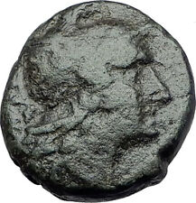 AMPHIPOLIS Macedonia 148BC RARE R1 Ancient Greek Coin ROMA & OAK WREATH i61553