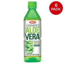 OKF Farmer's Aloe Vera original aromatisé boisson - 16.9 Oz (environ 479.10 g) (...