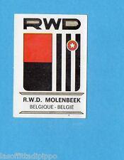 FOOTBALL CLUBS-PANINI 1975-Figurina n.26- RWD MOLENBEEK BELGIO - SCUDETTO -Rec