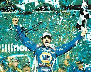 2014 Chase Elliott Champion NAPA Auto Parts NASCAR Signed 8x10 Photo COA