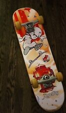 """2006 AngelBoy Powell Peralta Cool Red 29"""" SkateBoard with Spitfire Wheels 56mm"""