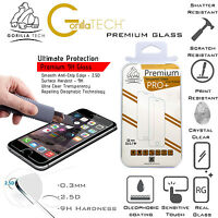 2 x Genuine Gorilla Tempered Glass Film Screen Protector Shield for iPhone 7