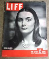Life Magazine June 9, 1947 Ballerina, Indy 500, Canadian Rockies, Housing