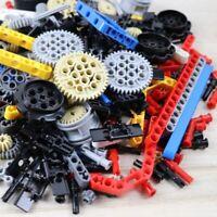 250g Compatible Lego Technic Parts Building Blocks Set Bulk Gear Studless Beam
