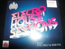 Electro House Sessions Volume 5 Ministry Of Sound Mixed By The Only & Rob Pix CD
