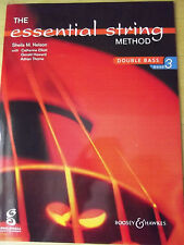 Sheila M. Nelson The Essential String Method 3 Double Bass Kontrabass Schule