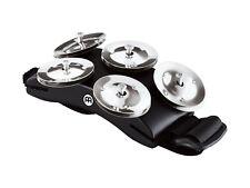 Meinl CFT5-BK Cajon Foot Tambourine - Stainless Steel Jingles
