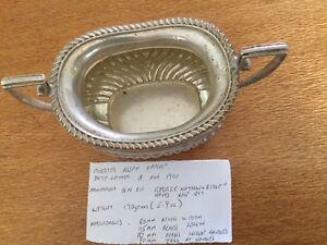 Sterling Sugar Bowl Chester Assay