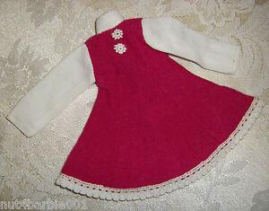 Vintage Mego Maddie Mod Ice Ballerina Purple White Doll Dress #7232 NM