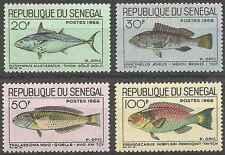 Timbres Poissons Sénégal 271/4 ** lot 22257