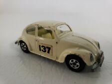 Vintage Matchbox Superfast Lesney #15 Volkswagen 1500 Saloon