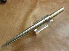 Parker Arrow Twist Action Ballpoint Stainless Gf Trim Usa Made