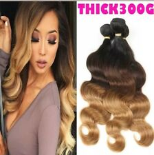 10a grade ,100% Brazilian Real Human Hair weave bundle 3 Bundles Body Wave Ombre
