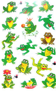 Frog Frogs Stickers Kids Labels for Craft Decoration Card-Making 53168