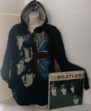 Beatles Large Sweatshirt British Fab Four Original First Vinyl Album Music
