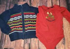 Gymboree Moose Top And Sweater 18 24