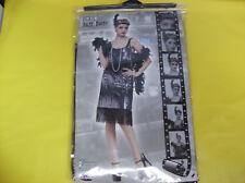 1920'S JAZZ BABY FLAPPER DRESS WOMEN HALLOWEEN COSTUME SMALL/MEDIUM